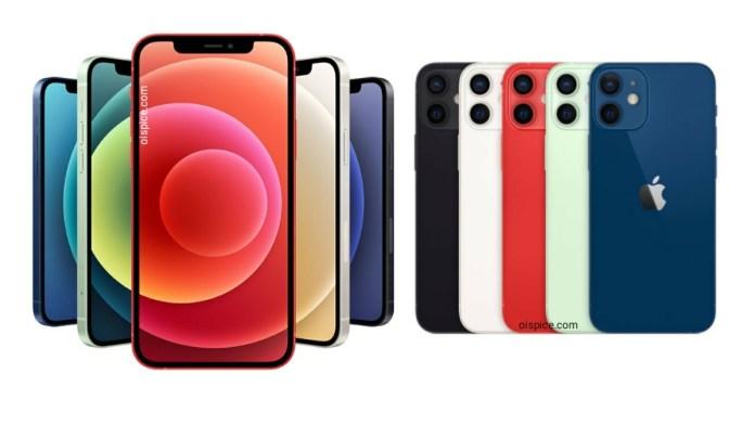Apple iPhone 12 Mini and iphone 12