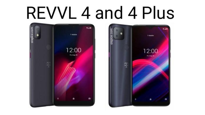 T-Mobile REVVL 4 and REVVL 4 Plus