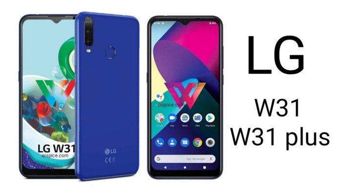 LG W31 and W31 Plus Review