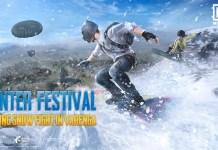 pubg winter festival