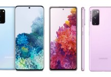 Samsung Galaxy S20 vs Samsung Galaxy S20 FE