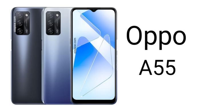 Oppo A55 smartphone