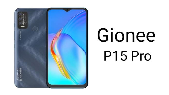 Gionee P15 Pro
