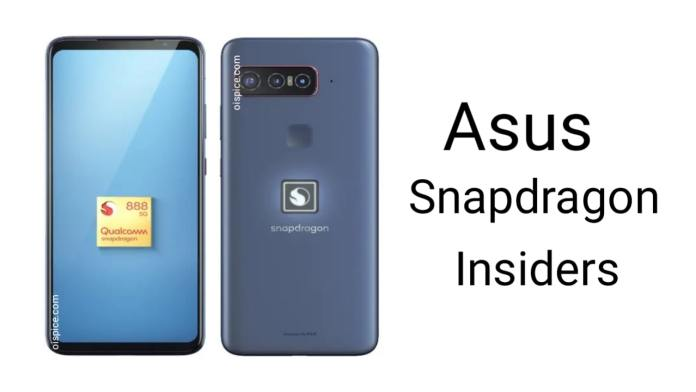 Asus Snapdragon Insiders