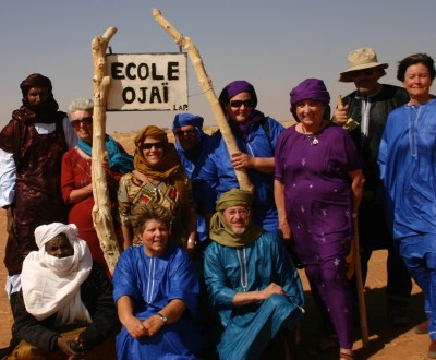 Clark has hosted dozens of Ojai residents, including members of the Rotary Club of Ojai, on trips deep into Niger.