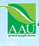 Anand Agricultural University AAU Recruitment 2017