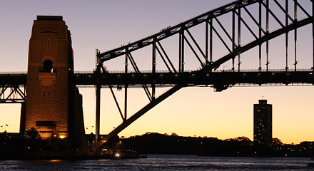 Sydney Harbour Bridge South Pier