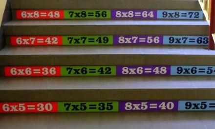 Jak zamontować tabliczkę do mnożenia na schodach? | MinuTaty #004
