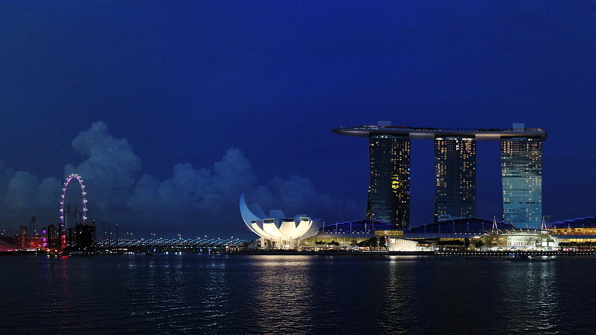 The Rock Hd Wallpapers 1080p Marina Bay Sands Desktop Wallpaper Ojdo