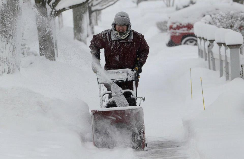 I like winter just fine if I have a snowblower