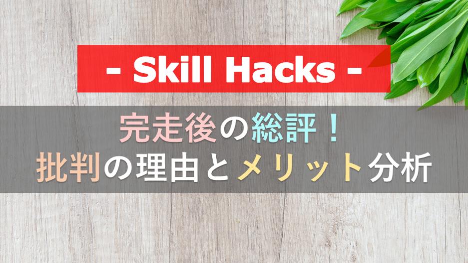 SkillHacks総評