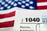 american flag tax document