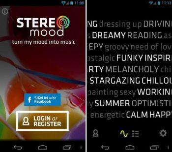 Stereomood, escucha música de acuerdo a tus estados de ánimo en tu Android