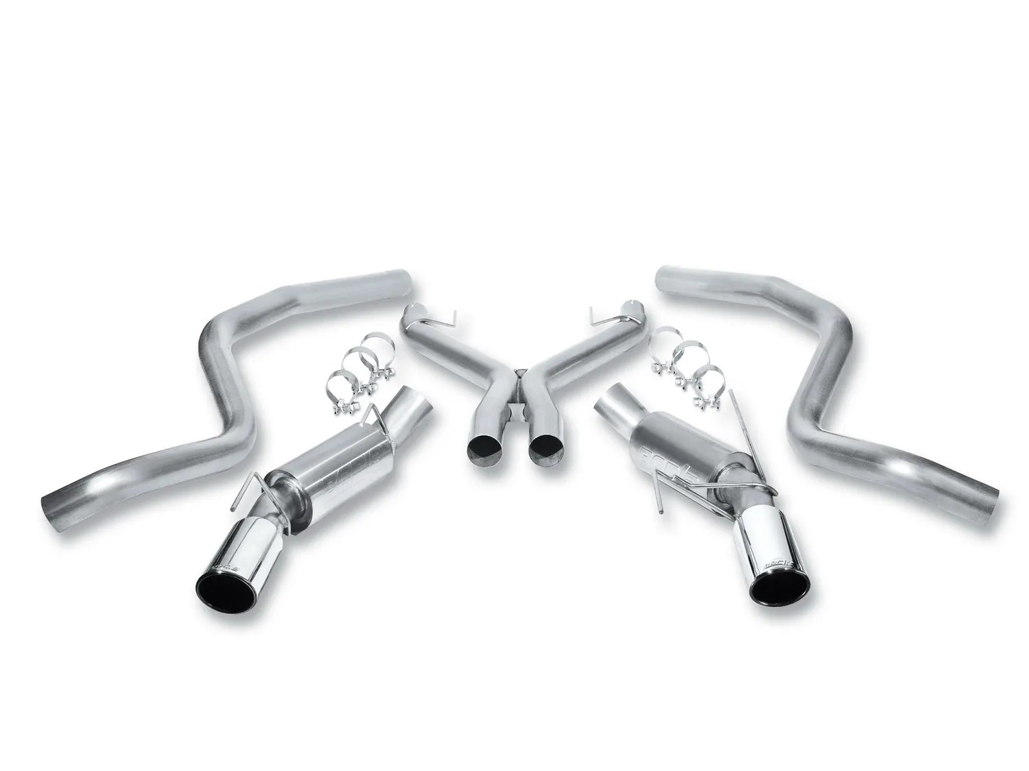 Borla Touring Cat-Back Exhaust System for 2005-2009 Ford