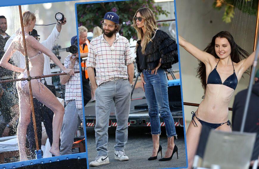 GNTMFotos Kandidatinnen beim sexy DuschShooting erwischt