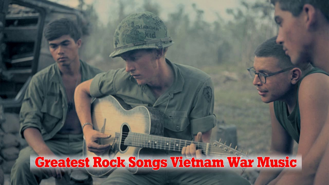 Top 100 Greatest Rock Songs Vietnam War Music – Best Classic Rock Songs Of All Time