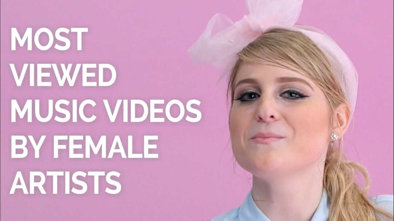 Most Viewed Music Videos By Female Artists