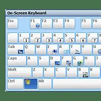 Onscreen Keyboard (detail)