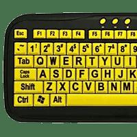 eZSee Large Key Keyboard