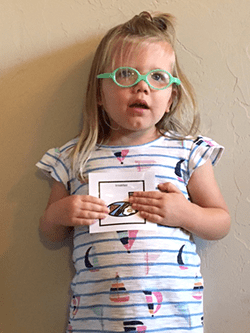 3-year old and picture schedule