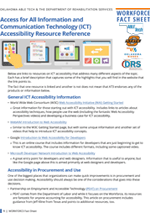 Access for All ICT Accessibility Resource Reference