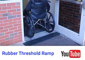 Rubber Threshold Ramp Video