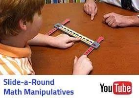 Slide-a-Round Math Manipulatives Video
