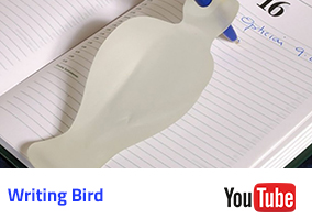 Writing Bird Video
