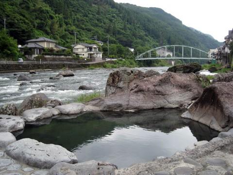 天ヶ瀬温泉共同露天風呂(神田湯)