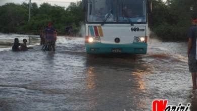 Foto de MILAGRES: Trânsito flui normalmente na Barragem do Rosário; veja vídeo