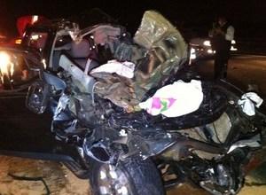 Foto de Colisão entre dois veículos deixa 8 mortos e 2 feridos