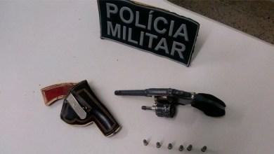 Foto de Policia Militar apreende revolver em Mauriti-CE após denúncia anônima
