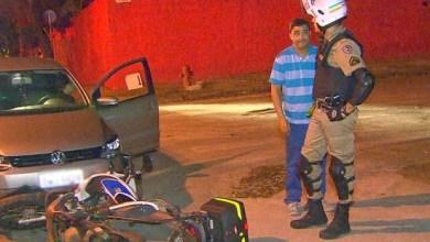 Foto de Padre embriagado é flagrado em blitz após bater em motocicleta da PM
