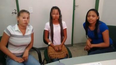 Foto de CE: Adolescentes são apreendidas após ameaçarem rival