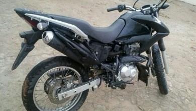 Foto de Mauriti-CE: Polícia Militar recupera moto roubada