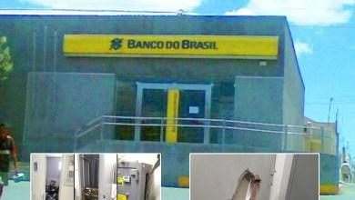 Foto de Aurora-Ce: Criminosos cavam buraco e arrombam cofre agência do Banco do Brasil
