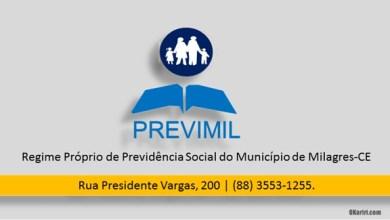 Foto de Milagres-CE: Prazo para que servidores, aposentados e pensionistas façam o censo previdenciário está quase encerrando; saiba os detalhes