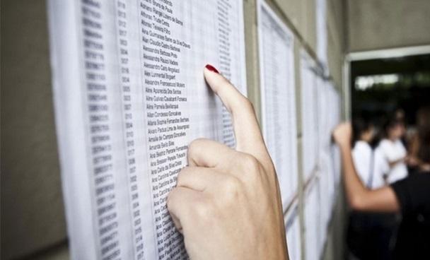 lista de aprovados
