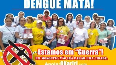 """Foto de Milagres-CE: Estamos em """"Guerra""""! Um Mosquito Não Irá Parar Uma Cidade"""