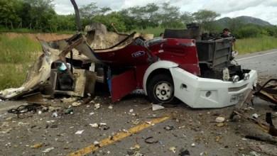 Photo of Polícia: Carro forte é destruído em assalto na rodovia CE – 176
