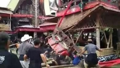 Tragédia na Indonésia