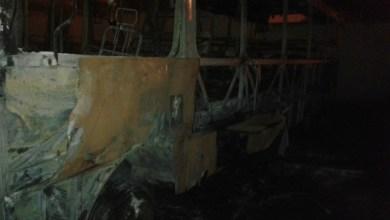 Foto de Quatro ônibus escolares são incendiados em Icó; confira