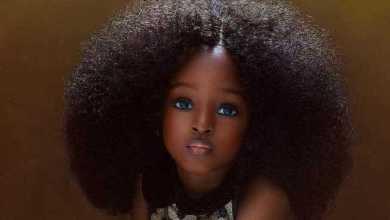 """Foto de Menina nigeriana de 5 anos é considerada a """"mais bonita do mundo""""; confira"""