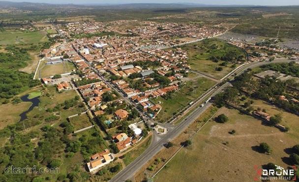 Vista Aérea de Milagres-CE   Imagem: K Drone