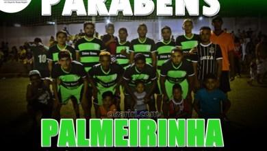 A equipe do Palmerinha, que venceu pelo placar de 2X0 | Foto: OKariri