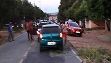 Photo of Brejo Santo (CE): Acidente envolvendo dois carros e uma motocicleta deixa homem ferido gravemente