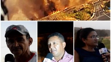 Photo of Barro-Ce: Moradores do Sitio Fazenda Nova e Defesa Civil falam sobre incêndio que durou vários dias