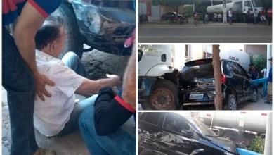 Photo of Abaiara-Ce: Prefeito Afonso Tavares é vitima de acidente mas passa bem; saiba mais