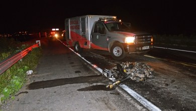 Foto de Milagres-Ce: Um motoqueiro falece e outro fica ferido em acidente acontecido próximo na Br 116
