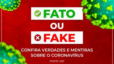 Foto de Fato ou Fake? Tire suas dúvidas sobre o Coronavírus